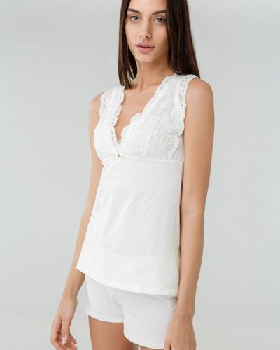 Белая пижама Ora