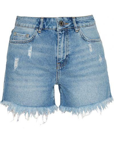 Джинсовые шорты короткие с карманами Zoe Karssen
