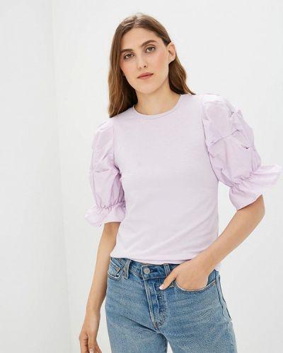 Фиолетовая футболка Befree