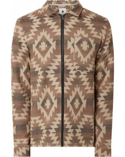Brązowa kurtka bawełniana Anerkjendt