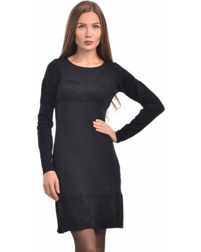 Шерстяное платье - черное Armani Jeans