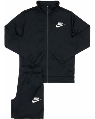 Черный спортивный костюм на резинке Nike
