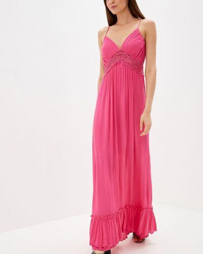 Платье розовое прямое By Swan