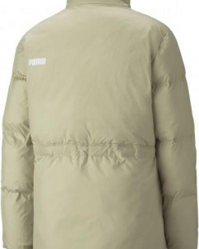 Утепленная куртка - зеленая Puma