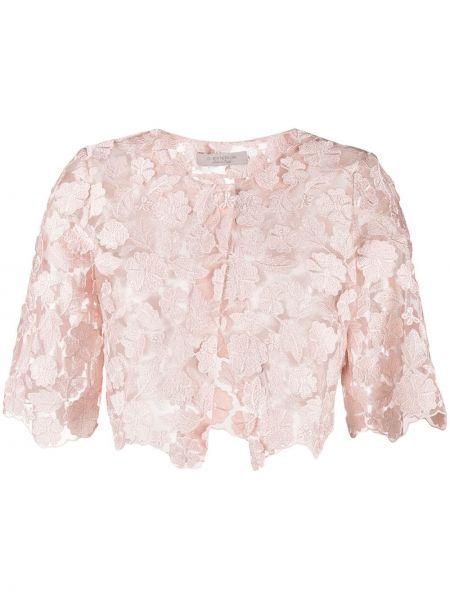 Розовая короткая куртка D.exterior