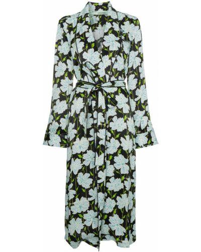Пальто пальто-халат с цветочным принтом Off-white
