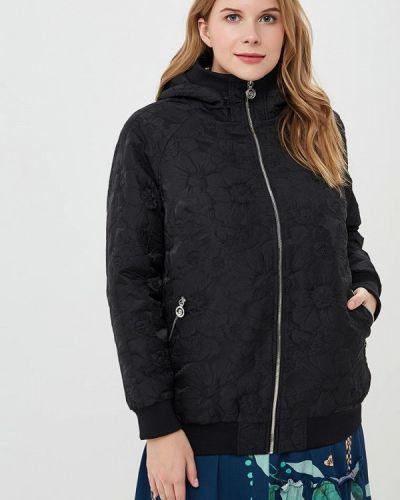 Утепленная куртка демисезонная черная Berkline