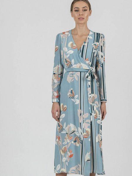 Платье с запахом весеннее Raimaxx