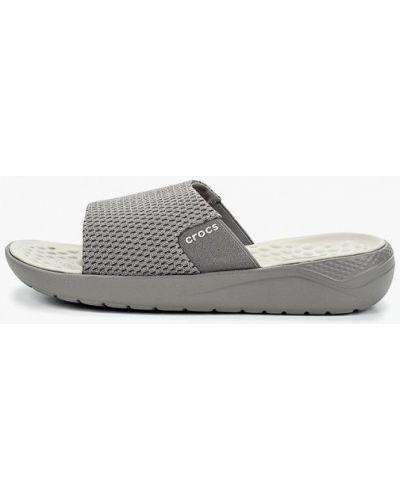 Сланцы серый Crocs
