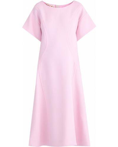 Платье мини теплое трикотажное Marni