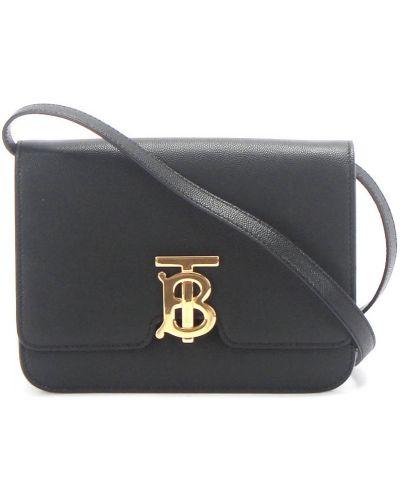 Czarna torba na ramię Burberry Vintage
