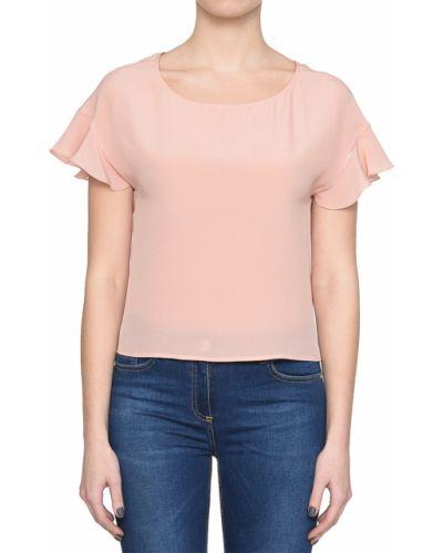 Розовая блузка шелковая Patrizia Pepe