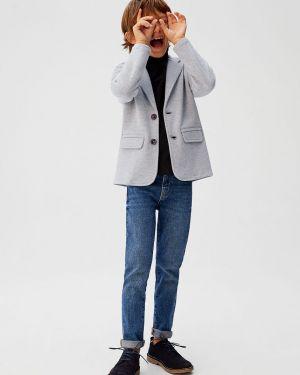 Классический пиджак на пуговицах Mango Kids