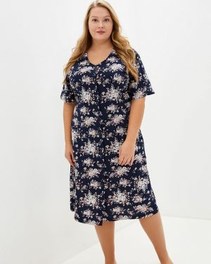 Домашний халат - синий Лори
