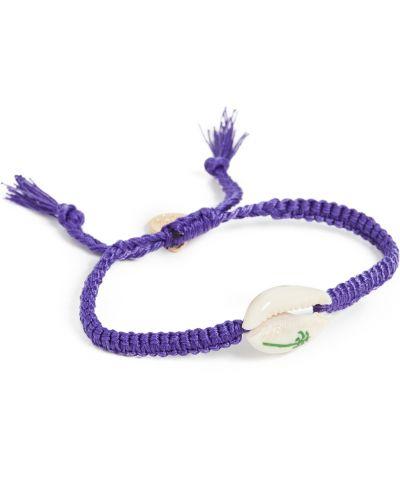 Фиолетовый браслет Venessa Arizaga