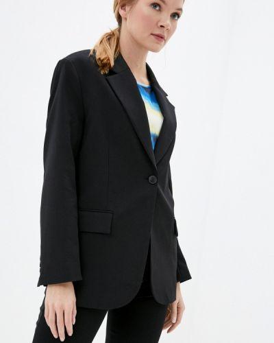 Черный пиджак Mango
