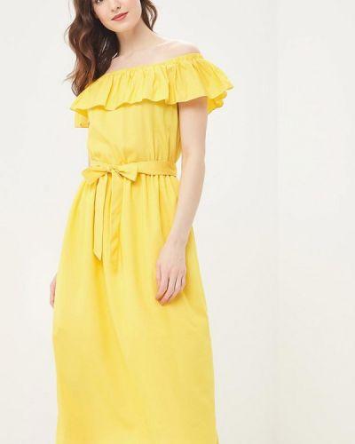 Платье весеннее желтый Vittoria Vicci