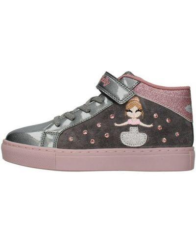 Szare sneakersy Lelli Kelly