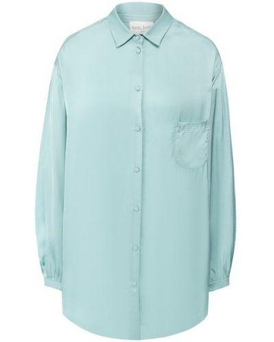 Зеленая блузка летняя Forte_forte