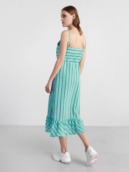 Синее платье Armani Exchange