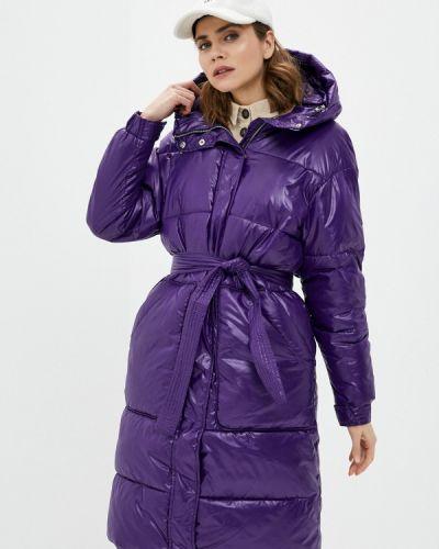 Фиолетовая утепленная куртка Annborg