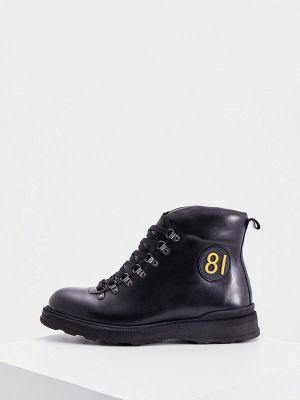 Черные турецкие ботинки Cerruti 1881
