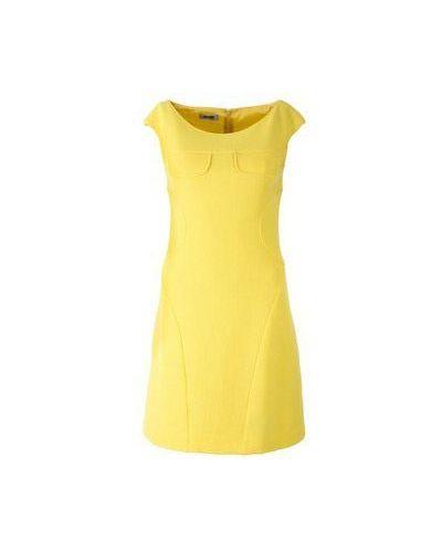 Желтое платье зимнее Moschino Cheapandchic