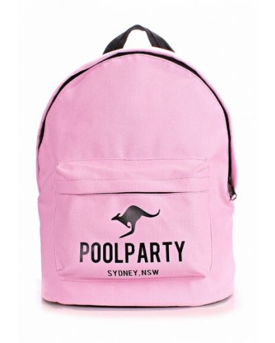 Розовый рюкзак Poolparty