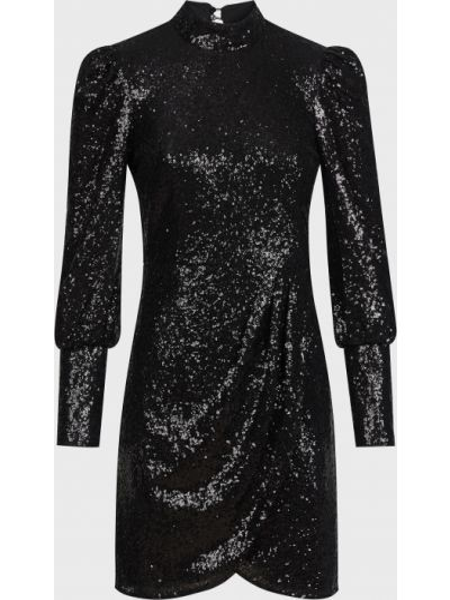 Платье с пайетками - черное Twin-set