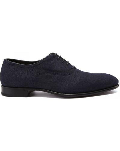 Синие итальянские туфли Fabi