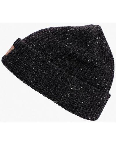 Черная шапка осенняя Vans