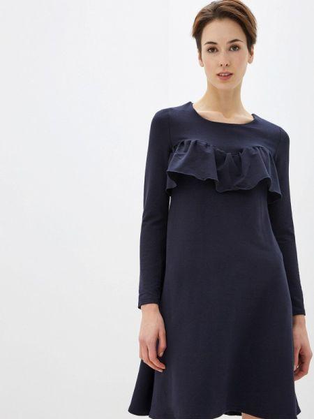 Платье прямое синее Numinou