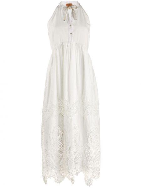 Платье миди на пуговицах ампир Alessia Santi