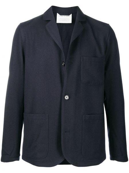 Шерстяной пиджак на пуговицах с вырезом с карманами A Kind Of Guise