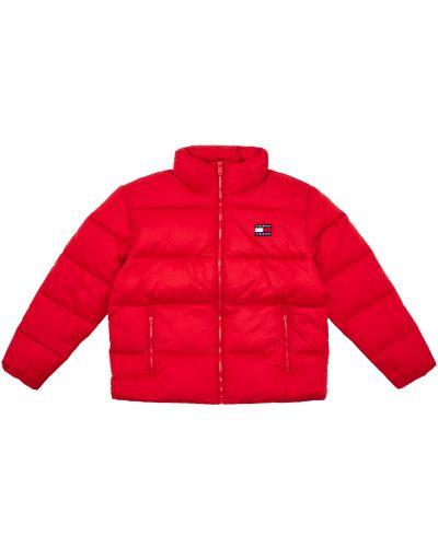 Дутая куртка - белая Tommy