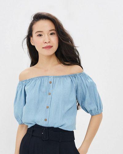 Блузка с открытыми плечами весенний Top Secret