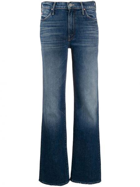 Расклешенные джинсы на пуговицах с карманами Mother
