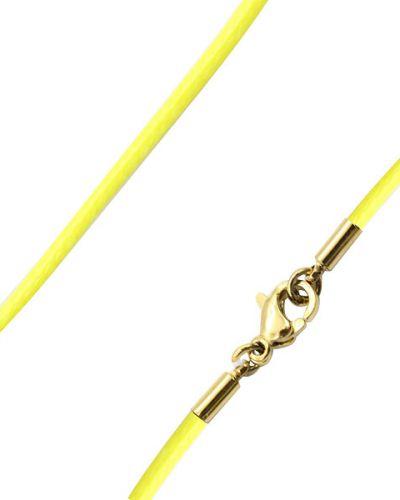 Цепочка из золота позолоченная желтый Swanky