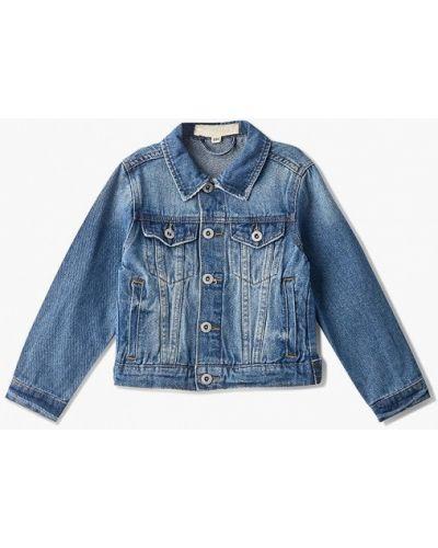 Куртка голубой джинсовая Modis