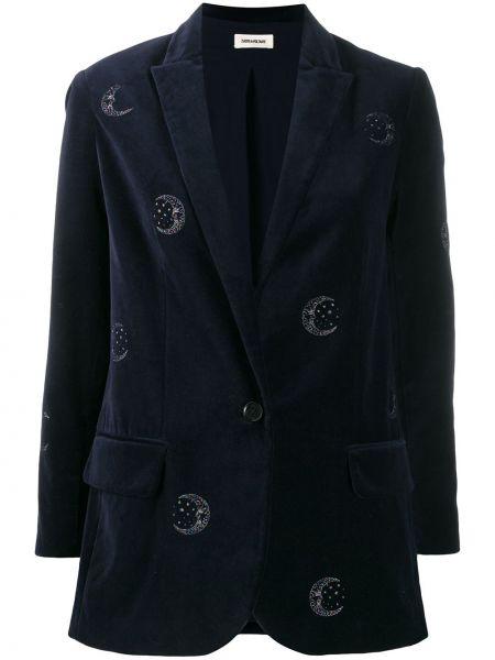 Синий пиджак Zadig&voltaire