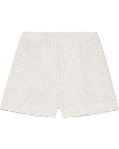 Białe szorty bawełniane Akris