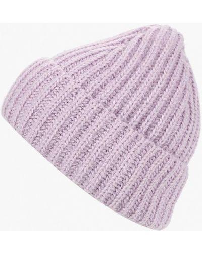Фиолетовая шапка осенняя Fete