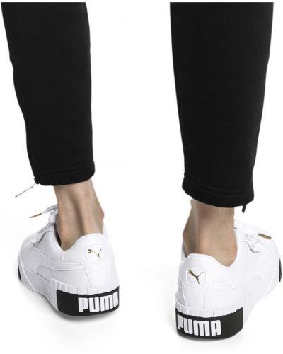 Повседневные черные кроссовки на шнуровке с перфорацией Puma