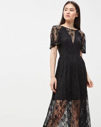 Черное коктейльное платье Phard