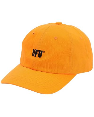 Czapka bawełniana - pomarańczowa Ufu - Used Future