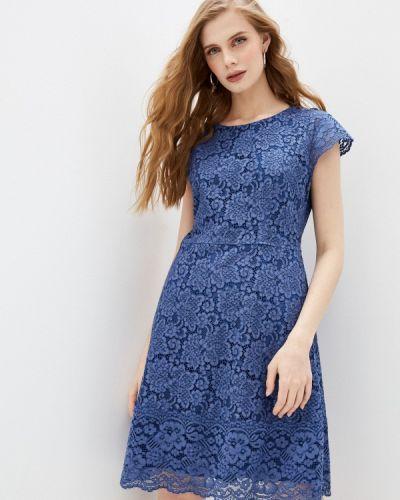 Повседневное синее платье Hugo