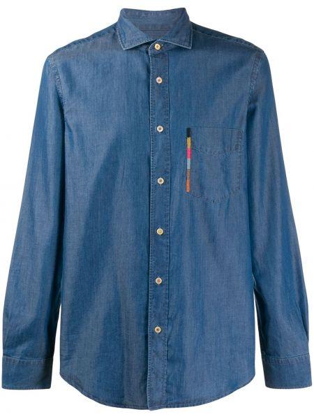 Koszula z długim rękawem dżinsowa z paskami Paul Smith
