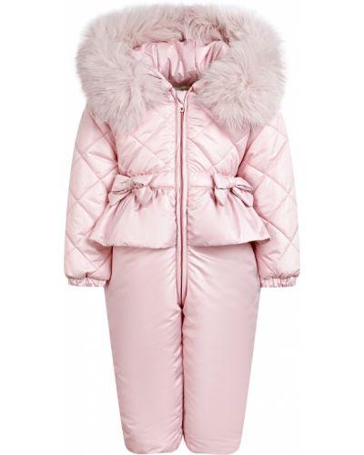 Комбинезон утепленный - розовый Aletta