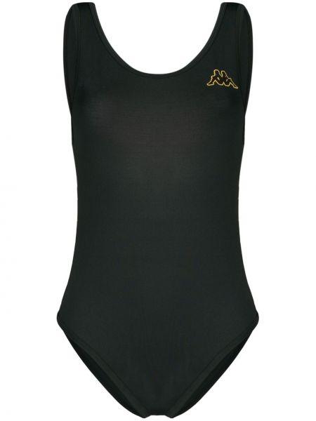 Черный купальник с разрезом Kappa