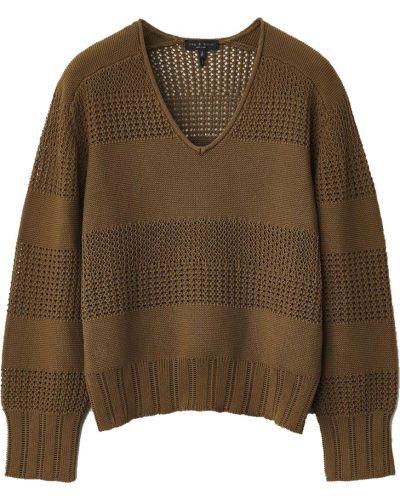 Brązowy sweter Rag & Bone